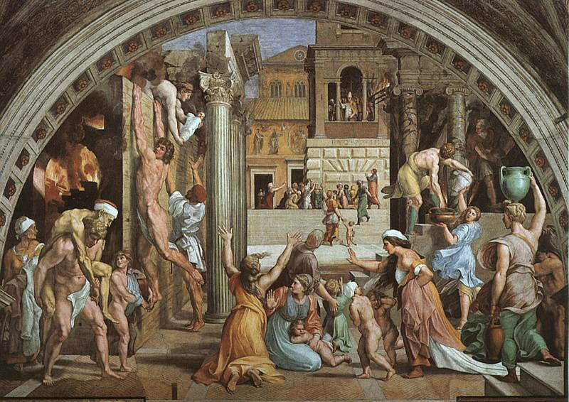 Scenes of Fatality: Fire in the Borgo
