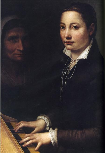 Dexedrina: Sofonisba Anguissola (autorretratos)
