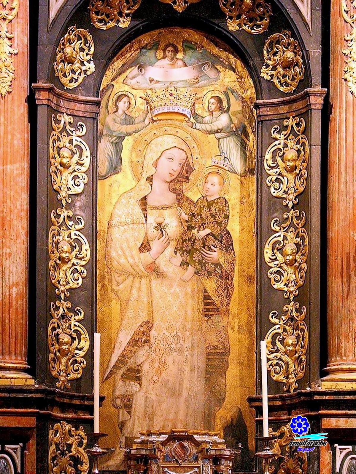 Leyendas de Sevilla - 6 Virgen de la Antigua | aznalfarache